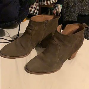 Madewell Ankle heeled boots